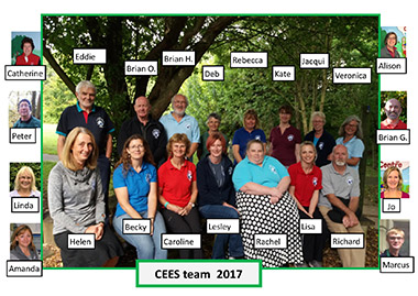 The CEES team